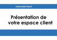 Presentation Espace-client